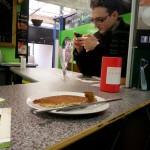 Fenugreek pancake at Eggelicious