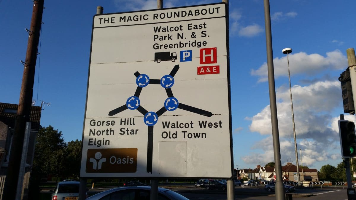 A rough guide to Swindon: The Magic Roundabout