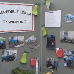 display board for incredible edible swindon