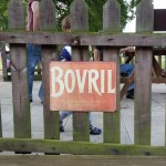 Bovril enamel sign