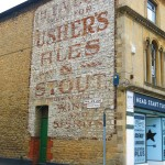 Ghost sign in Old Town Swindon