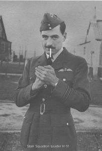Photo of squadron leader UK airforce