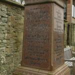 Morris family tombstone