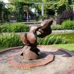 Born again swindonian - sculpture in Queen's Park