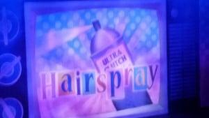Hairspray backdrop Wyvern