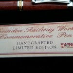 presentation box with wooden pen