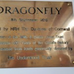 Dragonfly's name plaque