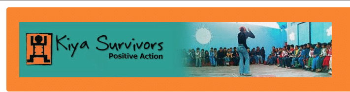 screen shot kiya survivors website