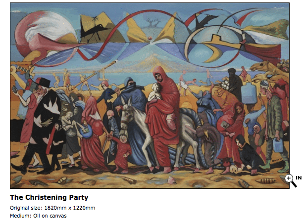 The Christening party