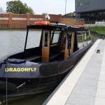 a narrow boat