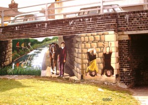 Ken White orig cambria bridge mural