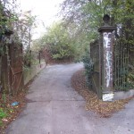 Old gates once accessed GWR works