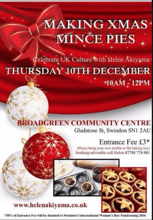 Mince Pie mania at Broadgreen Community Centre
