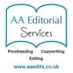 logo for aa editorial services
