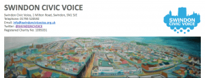 screen shot from swindon civic voice website