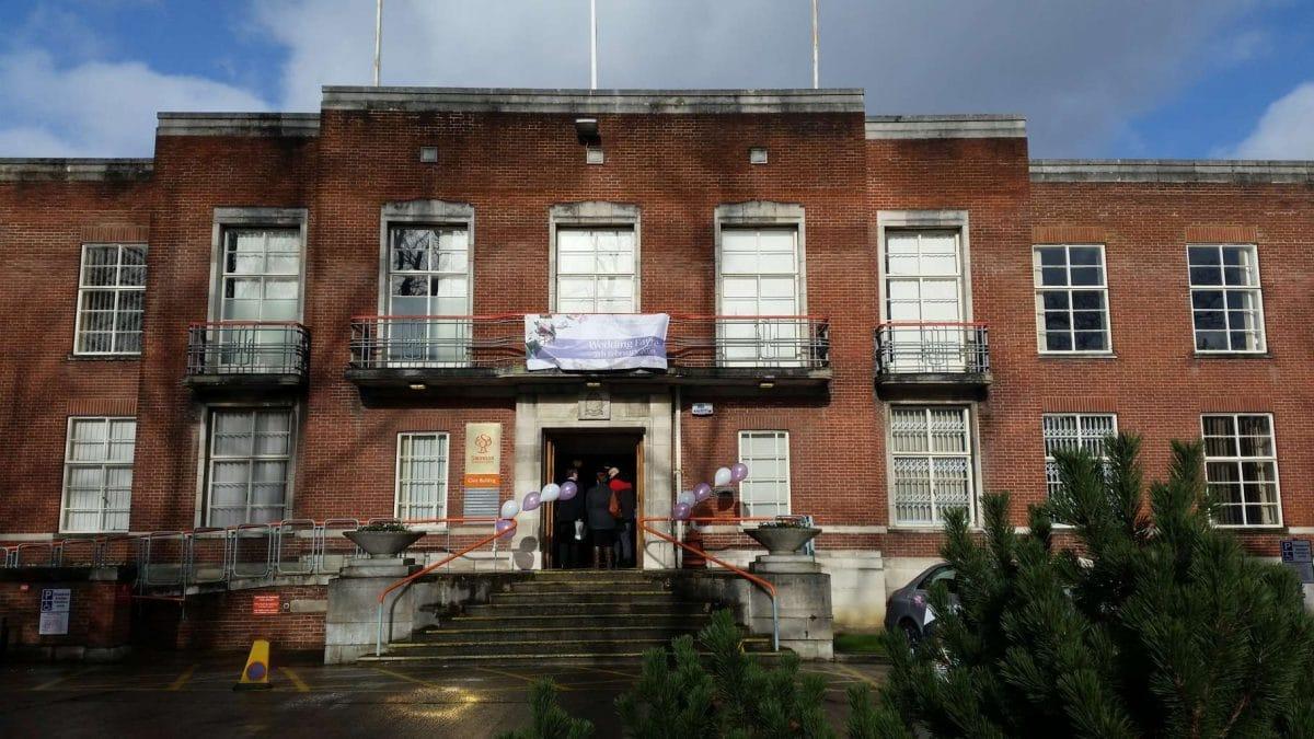 Swindon Civic Offices: wedding fair