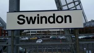Swindon station sign