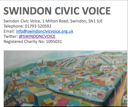 Swindon Civic Voice event: Starting over in Old Town