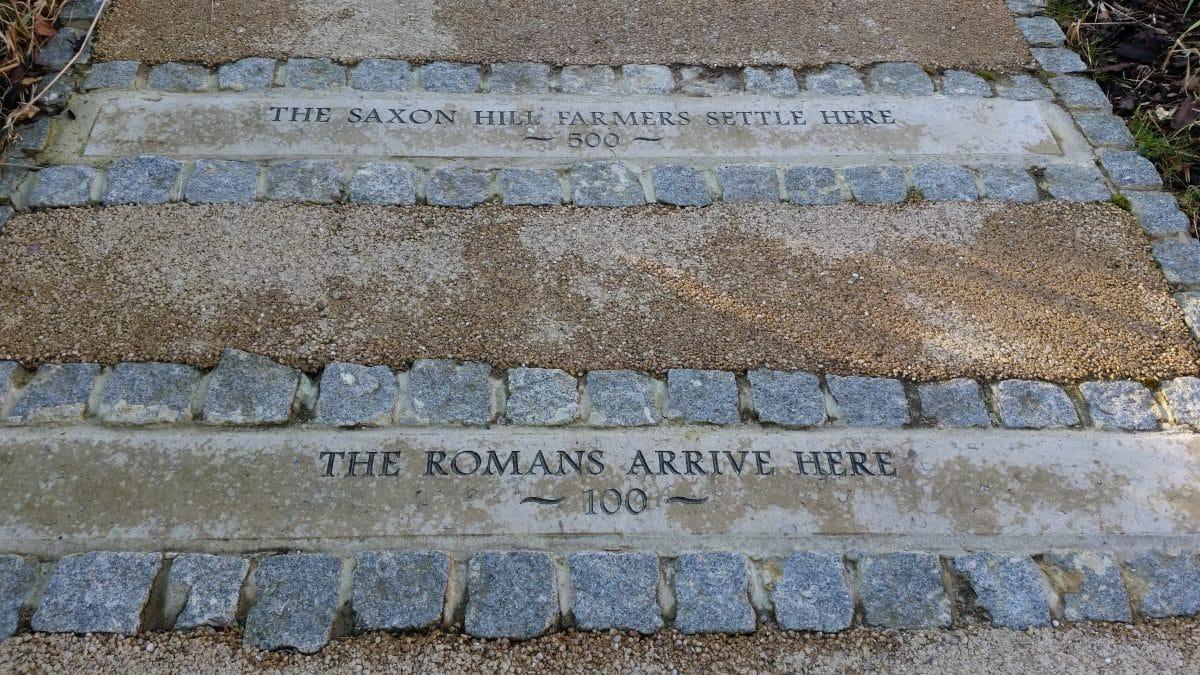 The Romans arrive