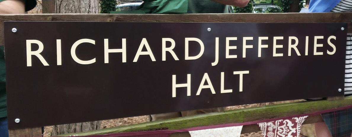 The Richard Jefferies Railway Halt