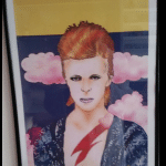Ken white print of david bowie