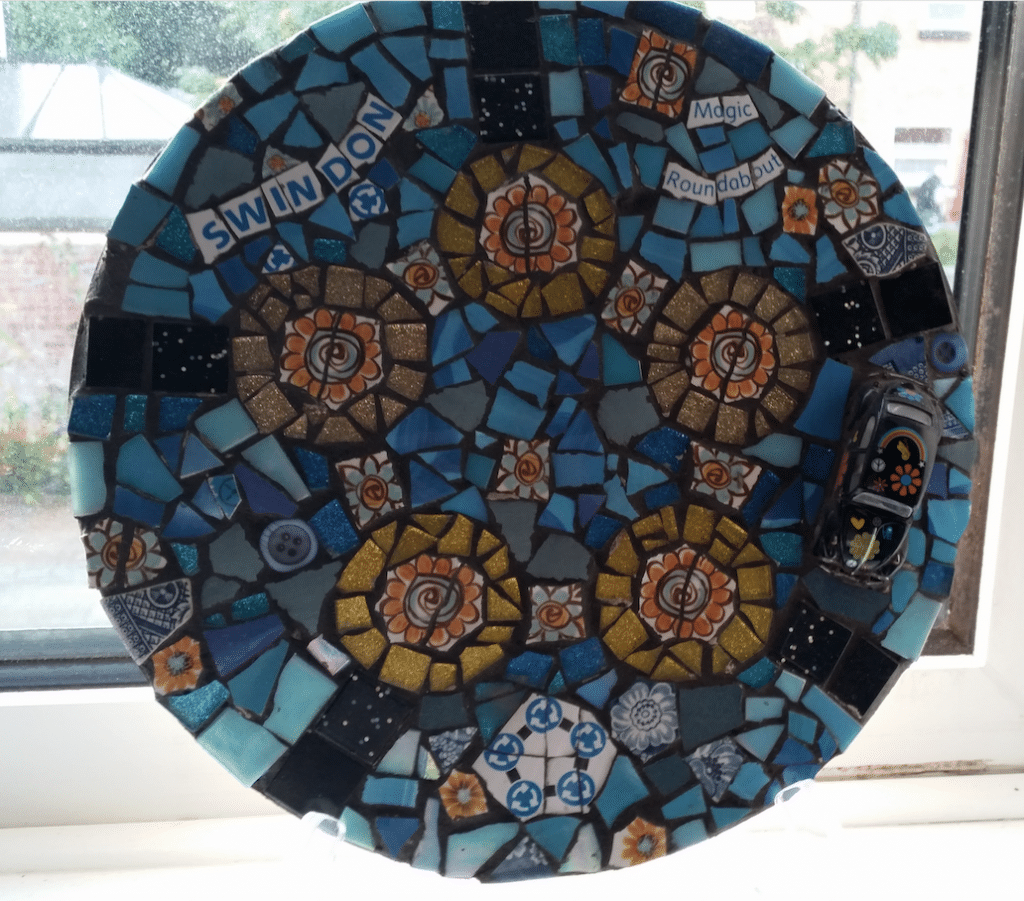 The Magic Roundabout traffic system - Magic roundabout mosaic
