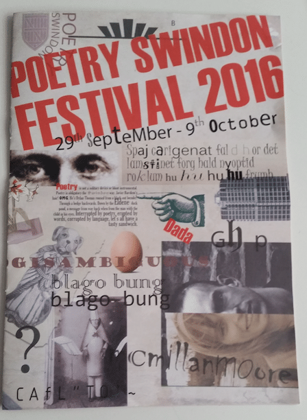 Da Da: the 2016 Swindon festival of poetry is launched