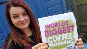 Lauren Webb - Macmillan coffee morning
