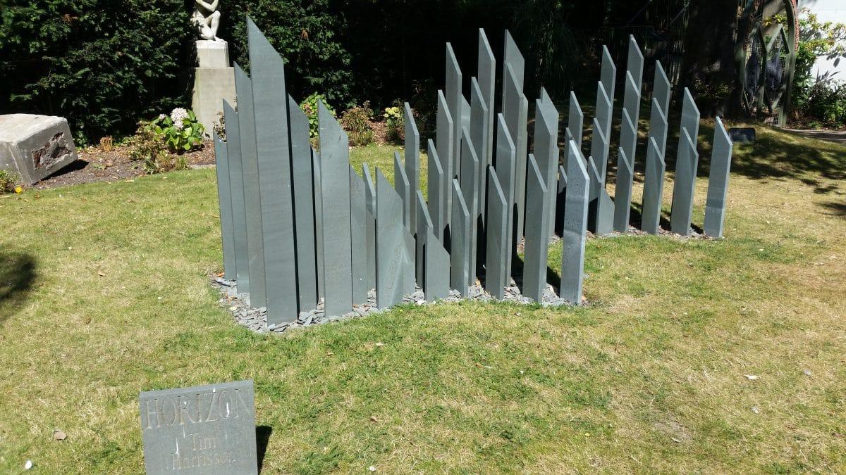 Sculpture in RC garden