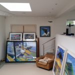 David Bent's studio