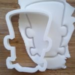 Frankenstein's monster cookie cutter