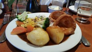 Roast dinner swindon marriott