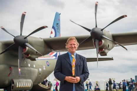 David Bent Art Print Salutes C-130 Ops Partnership
