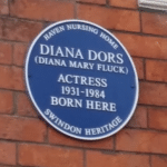 Diana Dors blue plaque