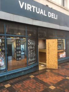 virtual deli shop front swindon