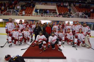 Business Village and the Swindon Wildcats ice hockey team
