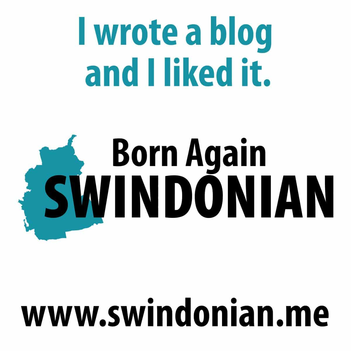 Meeting a Born again Swindonian
