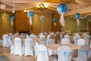Christening party decor