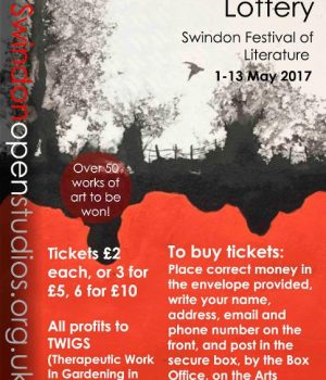 swindon open studios postcard lottery