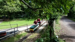 Coate Water miniature railway