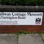 Railway cottage museum signage