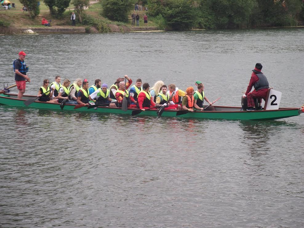 Dragon Boat Racing at Coate Water