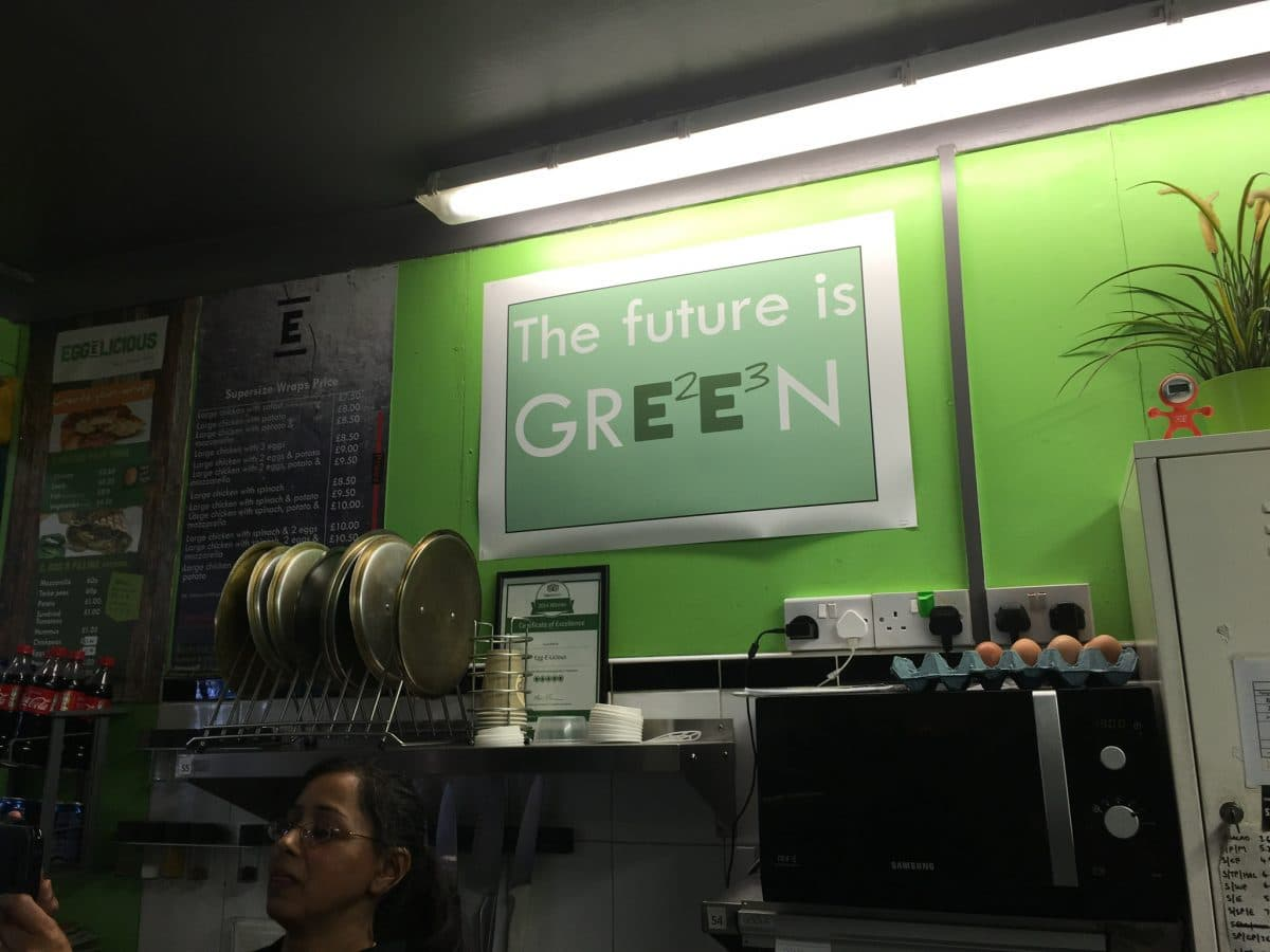 The future is green