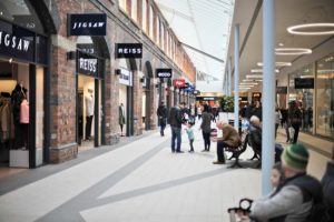 Inside the outlet centre - swindon shopping