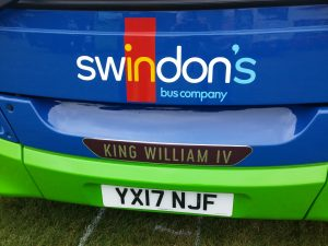 Bus King William IV - switch on to swindon