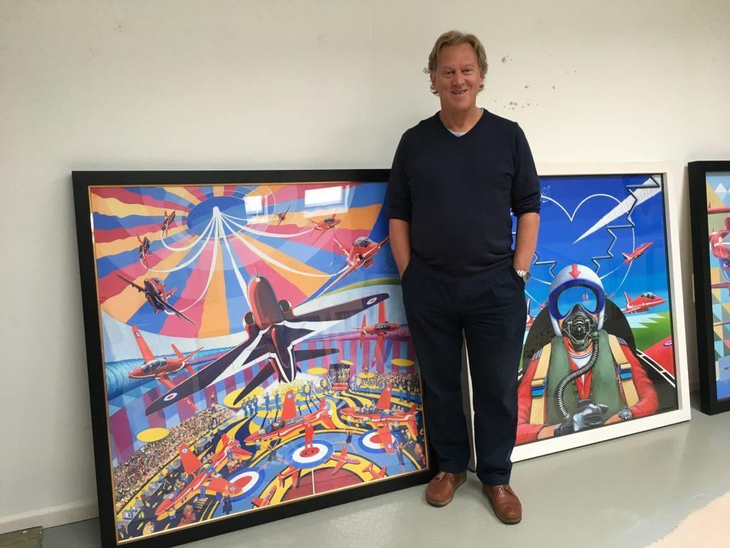 David Bent artist choosing swindon - David Bent and 'Circus'
