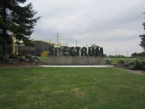 Spectrum building signage