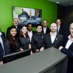 Launch Group 37284 Thistle Express , Swindon. Team with Neil Gallagher (Right) CEO GLH Hotels.
