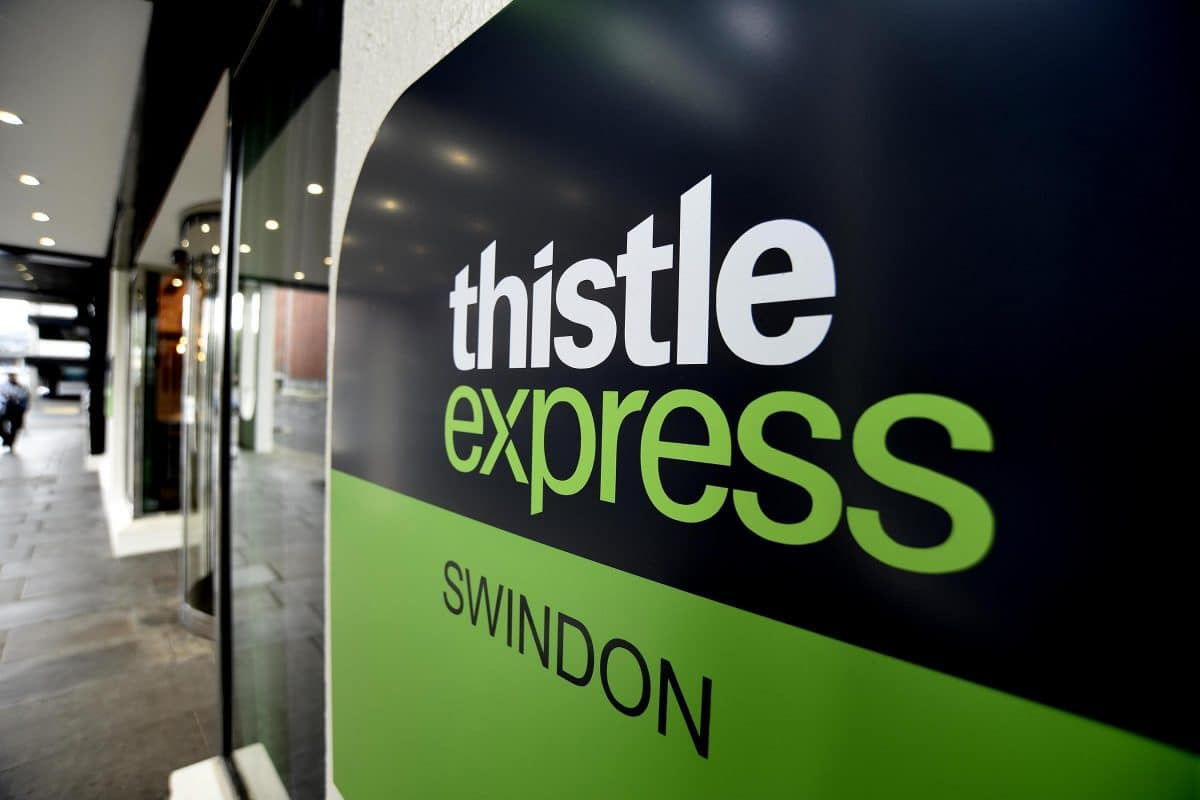 The Thistle Express in Swindon