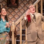Sarah Earnshaw as Betty & Joe Pasquale as Frank Spencer in Some Mothers Do 'Av 'Em, credit Scott Rylander
